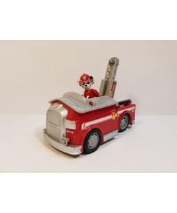 PSI PATROL - Duży Pojazd Dźwiękowy + Figurka Marshalla
