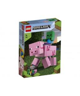 LEGO Minecraft - BigFig - Świnka i mały zombie 21157