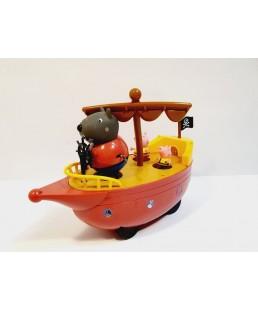 Świnka Peppa - Piracki statek Dziadka Psa