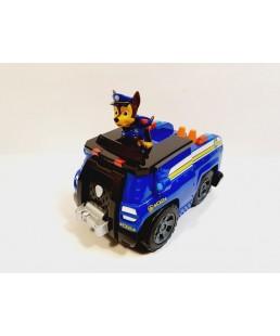 PSI PATROL - Duży Pojazd Dźwiękowy + Figurka Chase