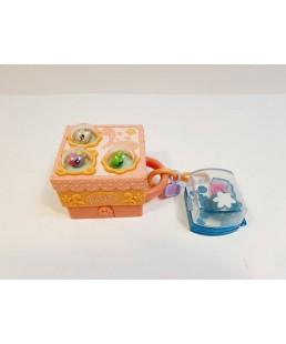 LITTLEST PET SHOP - 2 Mini Domki dla lps + Figurki
